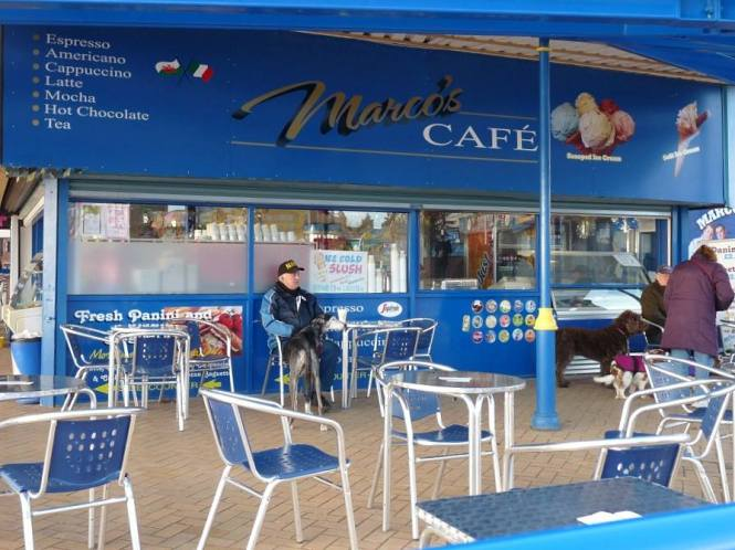 Marco's Cafe Barry Island South Wales UK