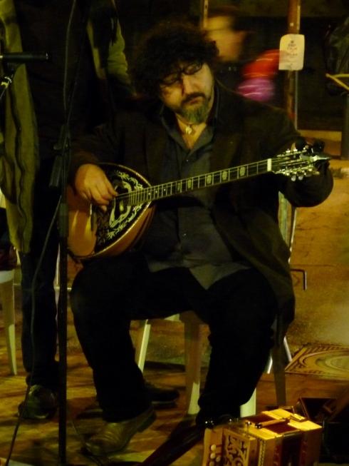Musician St Joseph's Bonfires Itri Italy