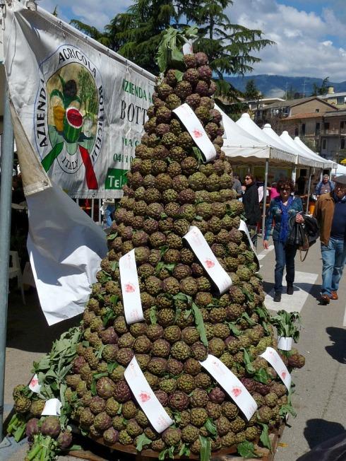Artichoke Festival in Sezze Latina South Lazio Italy