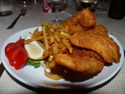 Villa Fortuna Atina Fish and Chips